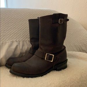 Frye authentic leather boots